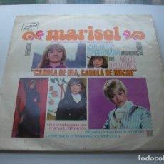 Discos de vinilo: MARISOL - CAROLA DE DIA CAROLA DE NOCHE - BANDA SONORA ORIGINAL DE LA PELICULA - LP 1969 ZAFIRO. Lote 157385606