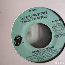 Discos de vinilo: ROLLING STONES EMOTIONAL RESCUE PROMO ORIGINAL USA 1980 VG++. Lote 157385814
