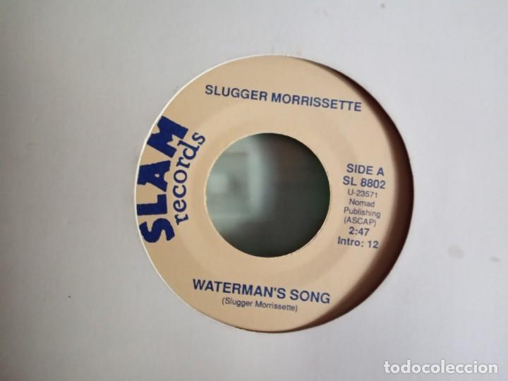 SLUGGER MORRISSETTE ANGIE / WATERMAN'S SONG COUNTRY ORIGINAL USA 90'S RARO NM (Música - Discos - Singles Vinilo - Country y Folk)