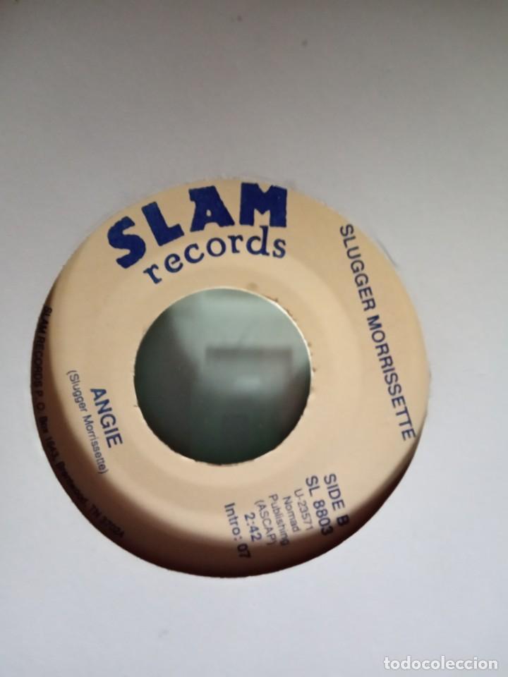 Discos de vinilo: SLUGGER MORRISSETTE ANGIE / WATERMANS SONG COUNTRY ORIGINAL USA 90S RARO NM - Foto 2 - 157386194