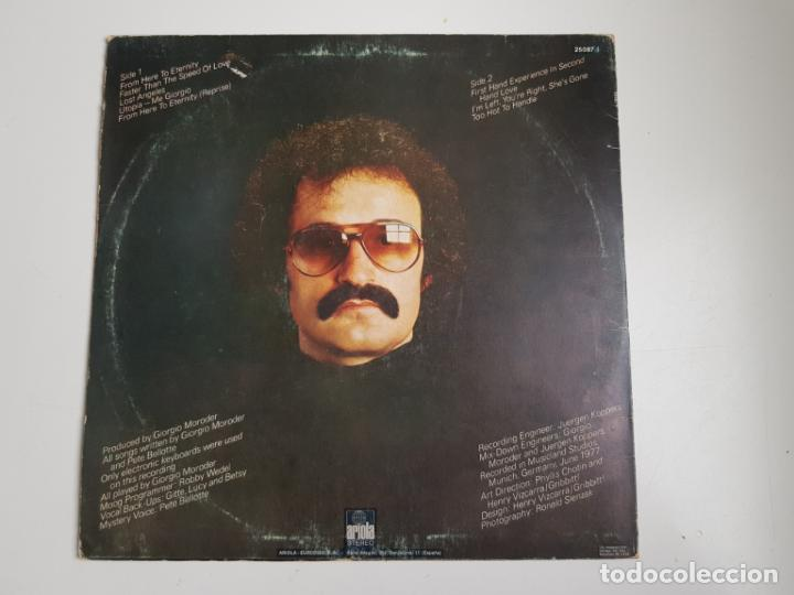 Discos de vinilo: Giorgio - From Here To Eternity (VINILO) - Foto 2 - 157387842
