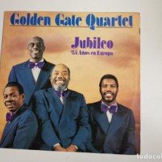 Discos de vinilo: GOLDEN GATE QUARTET - JUBILEO 25 AÑOS EN EUROPA (VINILO). Lote 157388082