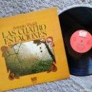 Discos de vinilo: LAS CUATRO ESTACIONES. A. VIVALDI. Lote 157405004