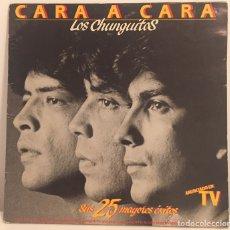 Discos de vinilo: LOS CHUNGUITOS-CARA A CARA-SUS 25 ÉXITOS-2 LP 1984 EMI-ODEON. Lote 157478126