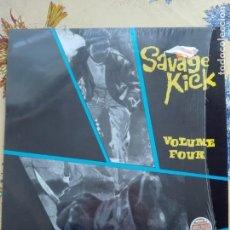 Discos de vinilo: MUSICA LP - SAVAGE KICK - VOL. 4 - MADE IN ENGLAND. Lote 157488342