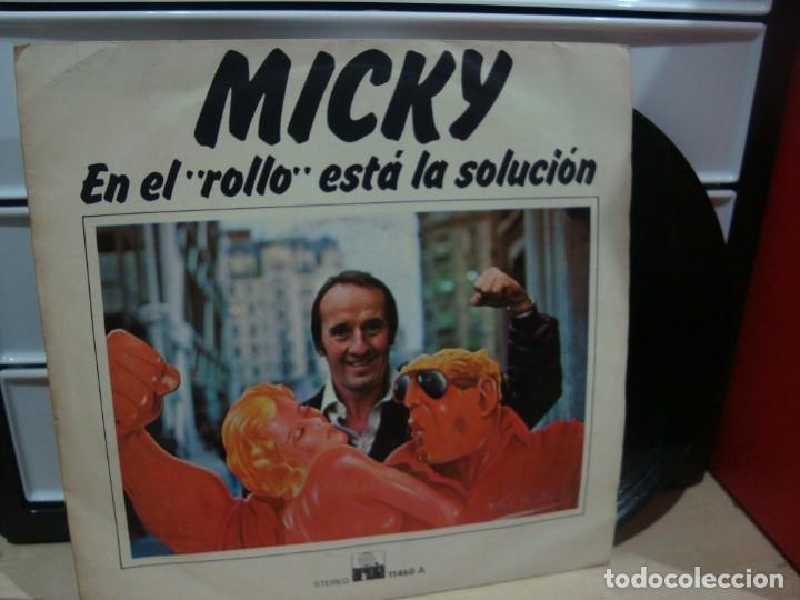 MICKY EL BAJO ROCK ME PERTURBA (Música - Discos de Vinilo - Maxi Singles - Grupos Españoles 50 y 60)