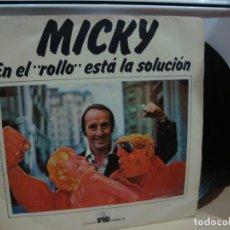Discos de vinilo: MICKY EL BAJO ROCK ME PERTURBA. Lote 157523950
