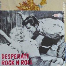 Discos de vinilo: MUSICA LP - DESPERATE ROCK N ROLL - FLAME - VOLUME 5. Lote 157528802