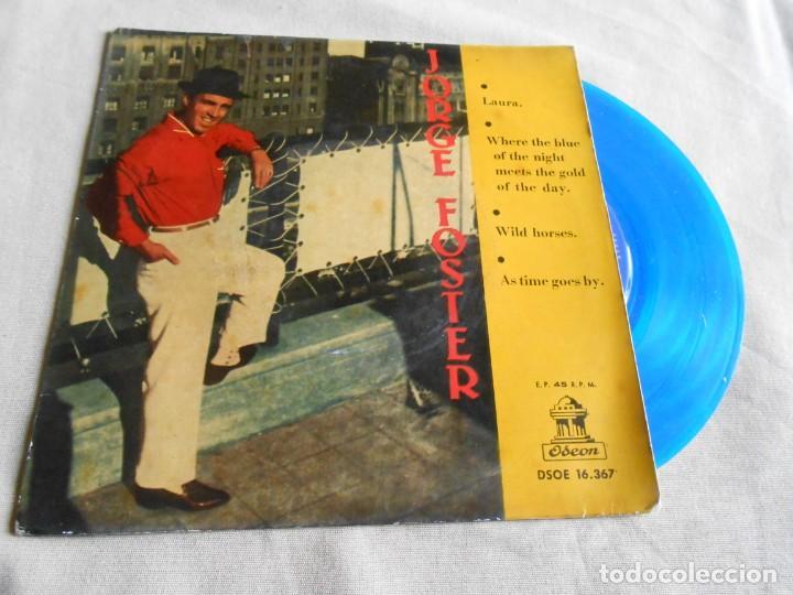 JORGE FOSTER, EP, LAURA + 3, AÑO 1960 (Música - Discos de Vinilo - EPs - Grupos y Solistas de latinoamérica)