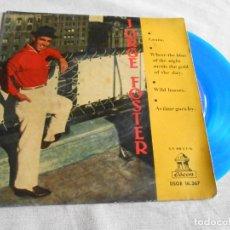 Discos de vinilo: JORGE FOSTER, EP, LAURA + 3, AÑO 1960. Lote 157665450