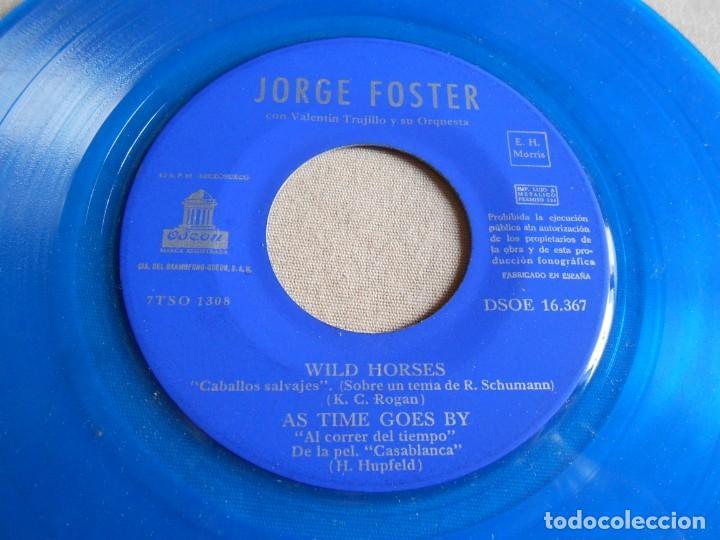 Discos de vinilo: JORGE FOSTER, EP, LAURA + 3, AÑO 1960 - Foto 4 - 157665450