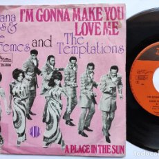 Discos de vinilo: DIANA ROSS & SUPREMES & TEMPTATIONS - 45 HOLLAND PS - I' M GONNA MAKE YOU LOVE ME * TAMLA MOTOWN. Lote 157679510