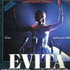 Discos de vinilo: EVITA - VERSIÓN ORIGINAL EN ESPAÑOL (EDICIÓN RESUMIDA) - PALOMA SAN BASILIO - LP EPIC 1981 BPY. Lote 157685466