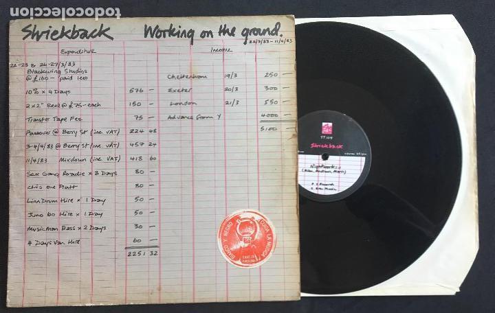 DISCO MAXI SINGLE VINILO 12'' SHRIEKBACK – WORKING ON THE GROUND EDICIÓN INGLESA DE 1983 (Música - Discos de Vinilo - Maxi Singles - Electrónica, Avantgarde y Experimental)