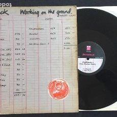 Discos de vinilo: DISCO MAXI SINGLE VINILO 12'' SHRIEKBACK – WORKING ON THE GROUND EDICIÓN INGLESA DE 1983. Lote 157692202