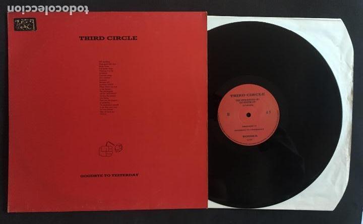 DISCO MAXI SINGLE VINILO 12'' THIRD CIRCLE – GOODBYE TO YESTERDAY EDICIÓN INGLESA DE 1987 (Música - Discos de Vinilo - Maxi Singles - Electrónica, Avantgarde y Experimental)