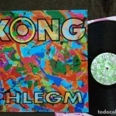 Discos de vinilo: KONG ?– PHLEGM LP 1992. Lote 157694778