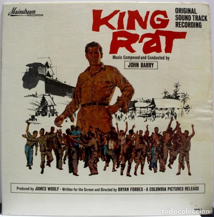 KING RAT. JOHN BARRY (Música - Discos - LP Vinilo - Bandas Sonoras y Música de Actores )