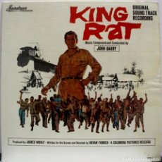 Discos de vinilo: KING RAT. JOHN BARRY. Lote 157694934