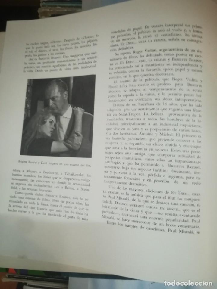 Discos de vinilo: BRIGITTE BARDOT, ET DIEU CREA LA FEMME ,BELTER EP ORIGINAL 1957. - Foto 5 - 193228833