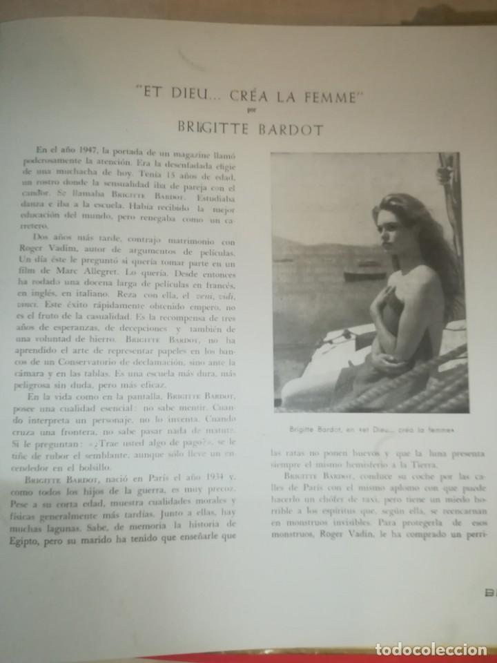 Discos de vinilo: BRIGITTE BARDOT, ET DIEU CREA LA FEMME ,BELTER EP ORIGINAL 1957. - Foto 6 - 193228833