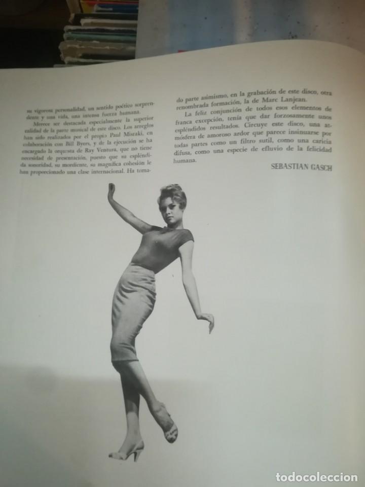 Discos de vinilo: BRIGITTE BARDOT, ET DIEU CREA LA FEMME ,BELTER EP ORIGINAL 1957. - Foto 7 - 193228833