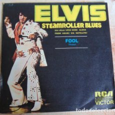 Discos de vinilo: ELVIS PRESLEY – STEAMROLLER BLUES - SINGLE 1973. Lote 172988995