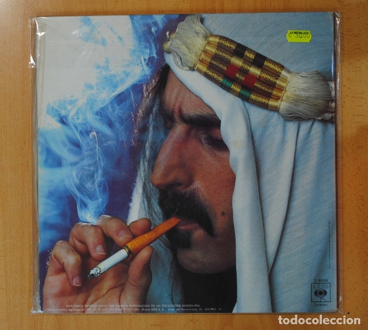 Discos de vinilo: FRANK ZAPPA - SHEIK YERBONTI - GATEFOLD - 2 LP - Foto 2 - 157704148