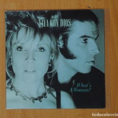 Dischi in vinile: VAYA CON DIOS - WHAT´S A WOMAN - SINGLE. Lote 157705130
