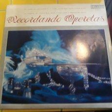 Discos de vinilo: LP RECORDANDO OPERETAS-LINA RICHARTE- ORLADOR 1967 ESPAÑA 8. Lote 157710612