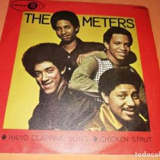 Discos de vinilo: THE METERS - HAND CLAPPING SONG - CHICKEN STRUT SINGLE 45 R.P.M. - JUBILEE - 1970.RARO.. Lote 157728226