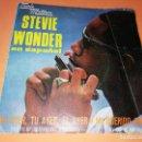 Discos de vinilo: STEVIE WONDER EN ESPAÑOL - MI AYER , TU AYER , EL AYER / MI QUERIDO AMOR . SINGLE 1979 TAMLA MOTOWN. Lote 157728670