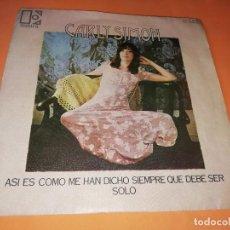 Discos de vinilo: CARLY SIMON ASI ES COMO ME HAN DICHO SIEMPRE QUE DEBE SER / SOLO RF-5546. Lote 157729470