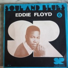 Discos de vinilo: EDDIE FLOYD SOUL AND BLUES 6 SOUL ORIGINAL FRANCIA 1967 VG+. Lote 157732698
