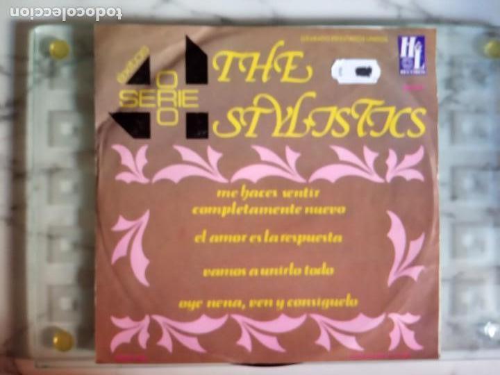 THE STYLISTICS EP EXITOS SERIE ORO SOUL ORIGINAL MÉXICO 1976 MUY RARO NM (Música - Discos de Vinilo - EPs - Funk, Soul y Black Music)