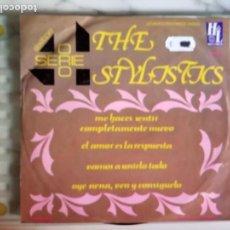 Discos de vinilo: THE STYLISTICS EP EXITOS SERIE ORO SOUL ORIGINAL MÉXICO 1976 MUY RARO NM. Lote 157737626