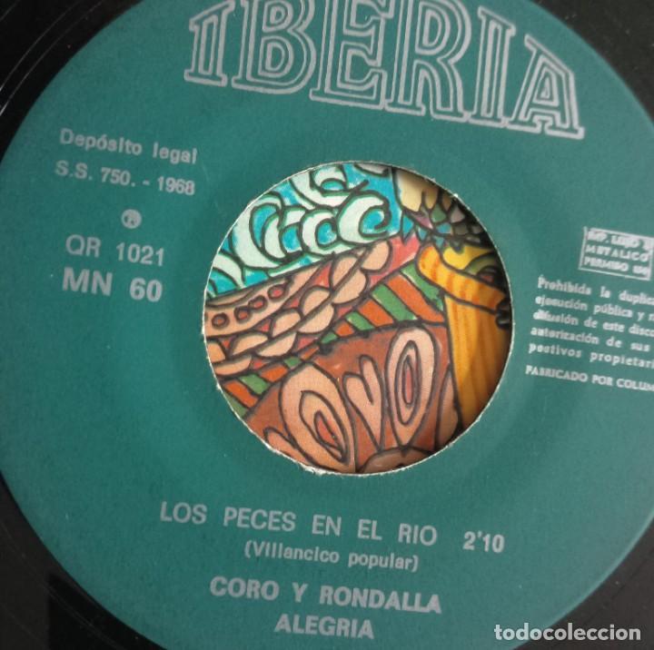 Discos de vinilo: discos - LOTE DE TRES DISCOS SINGLES MÚSICA INFANTIL DE NAVIDAD 1968 (VER FOTOS) - Foto 2 - 157748438