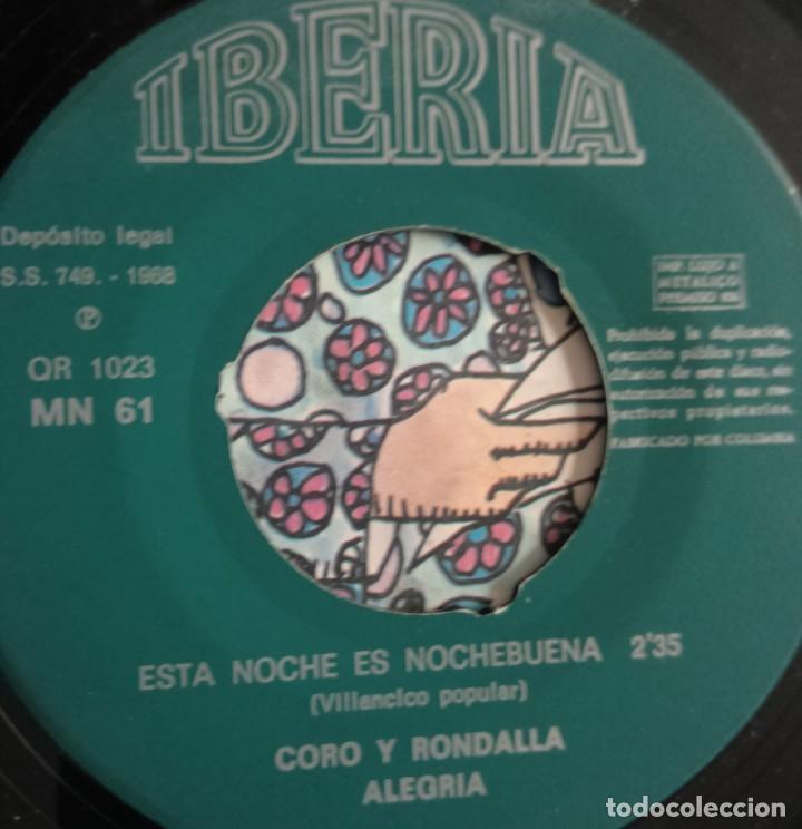 Discos de vinilo: discos - LOTE DE TRES DISCOS SINGLES MÚSICA INFANTIL DE NAVIDAD 1968 (VER FOTOS) - Foto 3 - 157748438
