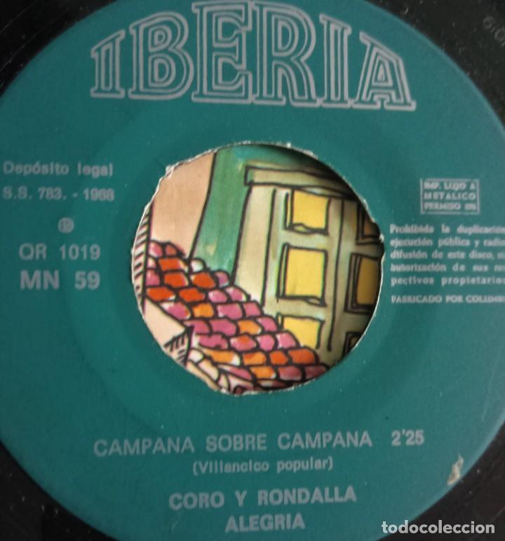 Discos de vinilo: discos - LOTE DE TRES DISCOS SINGLES MÚSICA INFANTIL DE NAVIDAD 1968 (VER FOTOS) - Foto 4 - 157748438