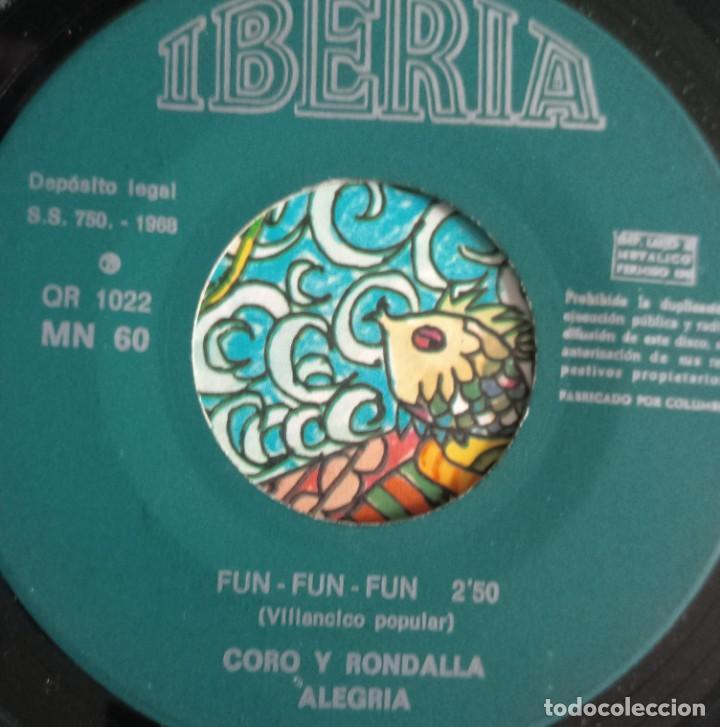 Discos de vinilo: discos - LOTE DE TRES DISCOS SINGLES MÚSICA INFANTIL DE NAVIDAD 1968 (VER FOTOS) - Foto 5 - 157748438