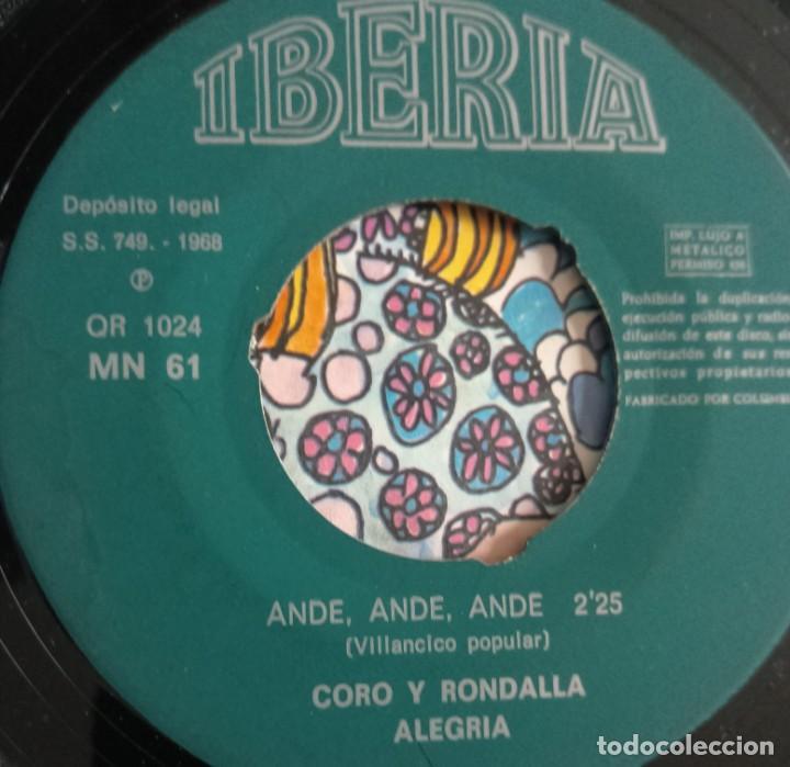 Discos de vinilo: discos - LOTE DE TRES DISCOS SINGLES MÚSICA INFANTIL DE NAVIDAD 1968 (VER FOTOS) - Foto 6 - 157748438