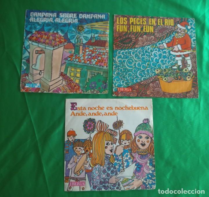 Discos de vinilo: discos - LOTE DE TRES DISCOS SINGLES MÚSICA INFANTIL DE NAVIDAD 1968 (VER FOTOS) - Foto 8 - 157748438