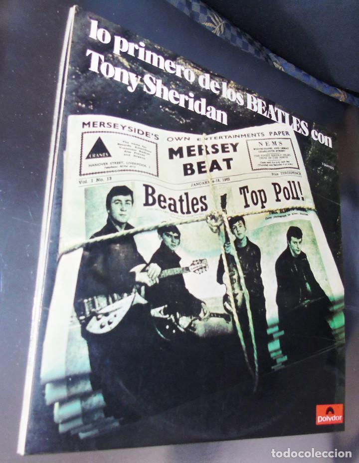 Discos de vinilo: THE BEATLES & TONY SHERIDAN-----L.P. DOBLE- 21 TITULOS --- ***COL*** COMO NUEVO *** - Foto 2 - 157768102