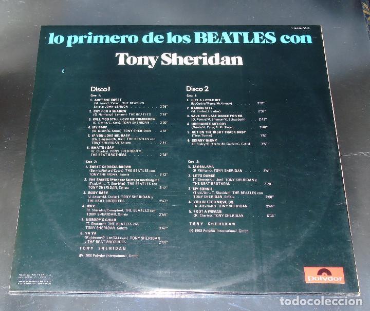 Discos de vinilo: THE BEATLES & TONY SHERIDAN-----L.P. DOBLE- 21 TITULOS --- ***COL*** COMO NUEVO *** - Foto 4 - 157768102