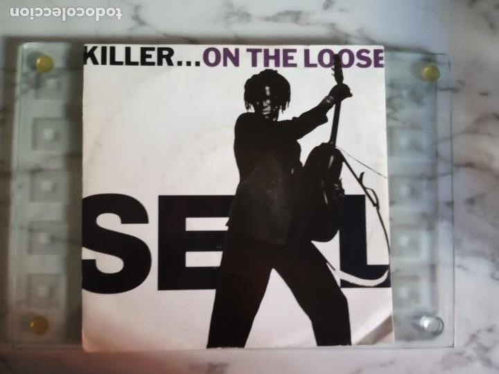SEAL KILLER ON THE LOOSE SOUL ELECTRONICA EP ORIGINAL EUROPA 1991 NM (Música - Discos de Vinilo - EPs - Funk, Soul y Black Music)