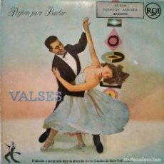 Discos de vinilo: HENRI RENE Y SU ORQUESTA - VALSES / PERFECTO PARA BAILAR - SON 2 EP'S DE 4 TEMAS CARPETA ABIERTA EX.. Lote 157786506