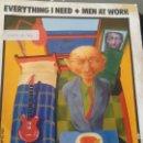 Discos de vinilo: SINGLE (VINILO)-PROMOCION- DE MEN AT WORK AÑOS 80. Lote 157789618