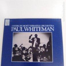 Discos de vinilo: PAUL WHITEMAN AMERICA'S MOST VERSATILE ORCHESTRA 3LP BOX ( 1977 MF USA ) GRABACIONES 1936 A 1948. Lote 157810074