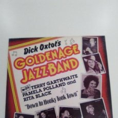 Discos de vinilo: DICK OXTOT'S GOLDEN AGE JAZZ BAND DOWN IN HONKY TONK TOWN ( 1980 ARHOOLIE USA ) MUY BUEN ESTADO. Lote 157810698