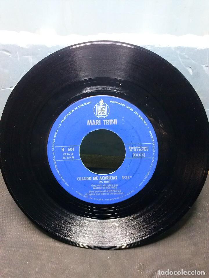 MARI TRINICUANDO ME ACARICIAS (Música - Discos de Vinilo - EPs - Grupos Españoles de los 70 y 80)